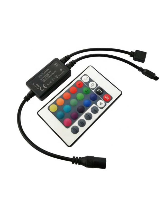 RGB RGBW 24Keys IR LED Mini Controller