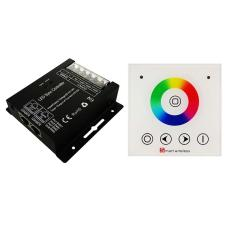 RGB LED Controller With RF Wireless Touch Wall Panel Remote