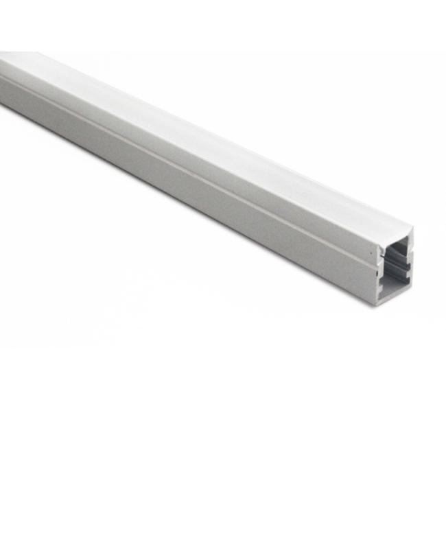 Recessed Mounted Aluminium Extrusions For LED Lighting