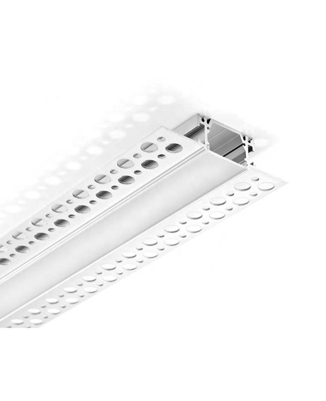 "5/8"" Recessed LED Strip Plasterboard Profile With Flange"
