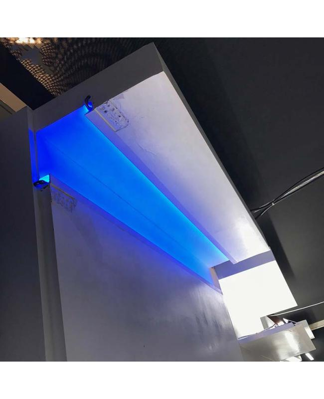 gypsum led profile application
