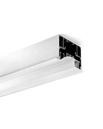 Recessed Aluminum LED Profile Extrusion For Wall Washer