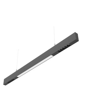 Pendant Modular Linear Track Lighting With Reflectors
