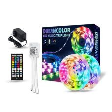 Dream Color LED Light Strip With Bluetooth LED Controller