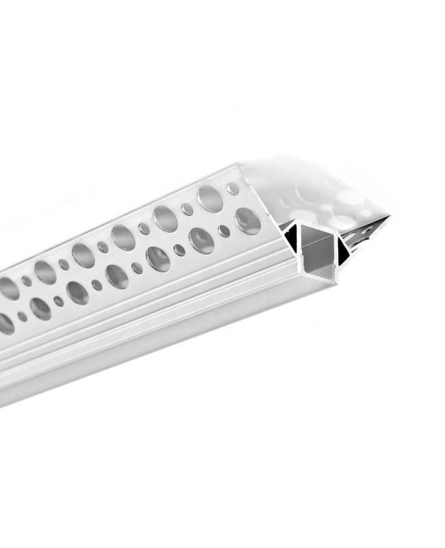 External Corner Trimless LED Drywall Profile