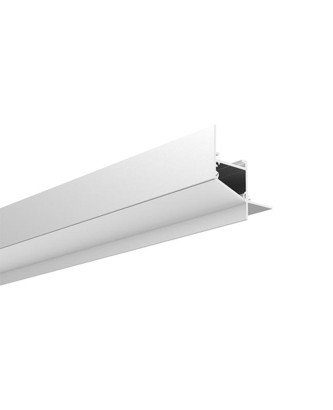 Corner Recessed Profile LED Strip For Drywall Stair Light