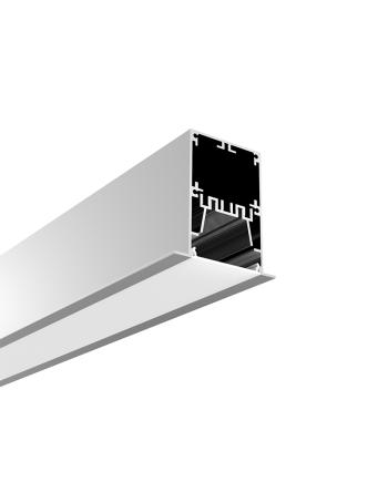 2 Inches Strip Light Diffuser