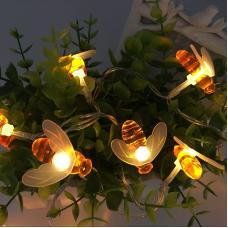 Bee Style LED Holiday String Lights