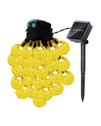 Solar String Bulb Outdoor Lights