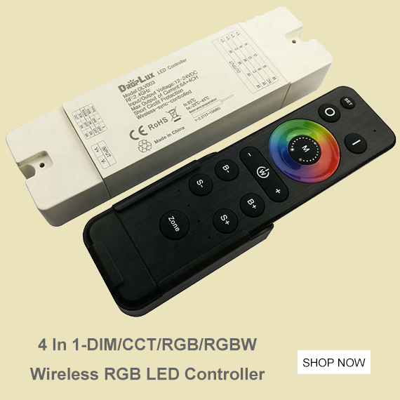 4 In 1 Wireless RGB LED Controller