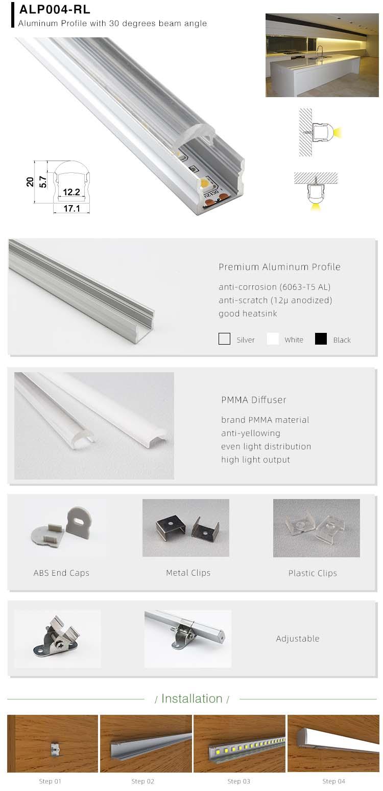 Aluminium LED Strip Profile