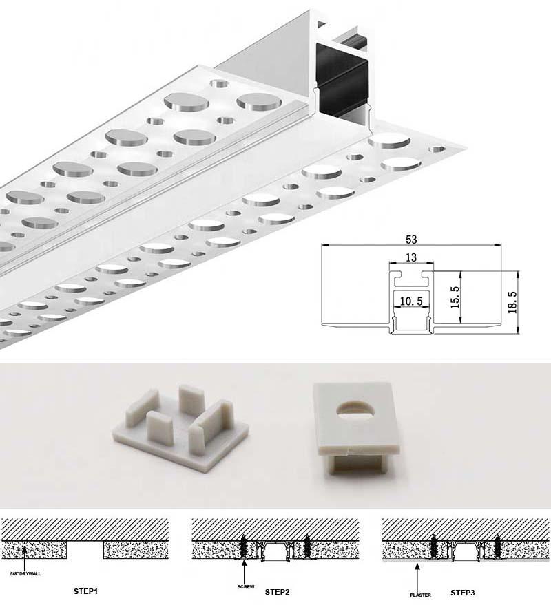 Dry Wall LED Strip Profile
