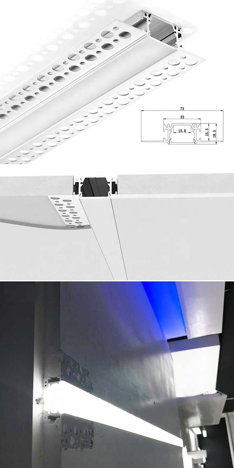 LED Plasterboard Profile