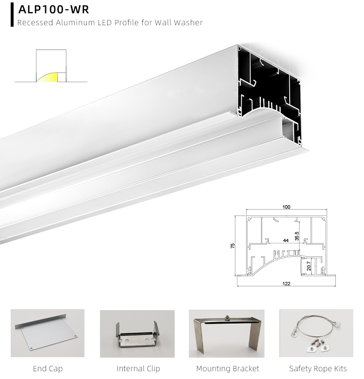Cuttable LED Profile Extrusion