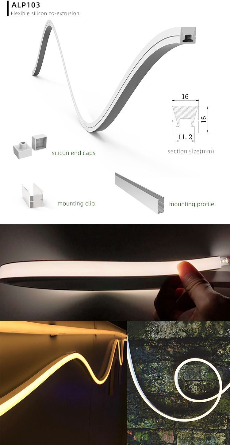 Flexible Silicone LED Channel