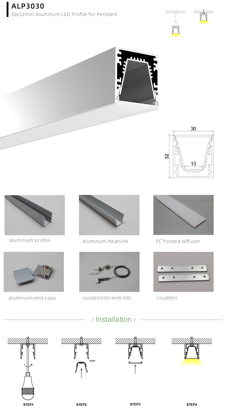 LED Light Channel Applications