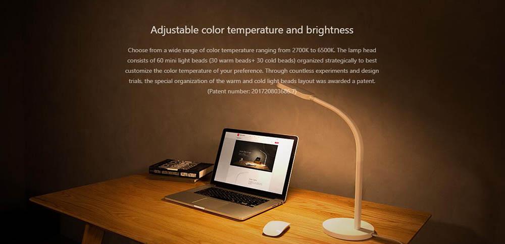 xiaomi yeelight table lamp