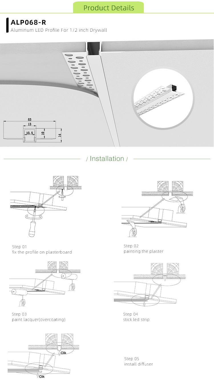 LED Drywall Channel