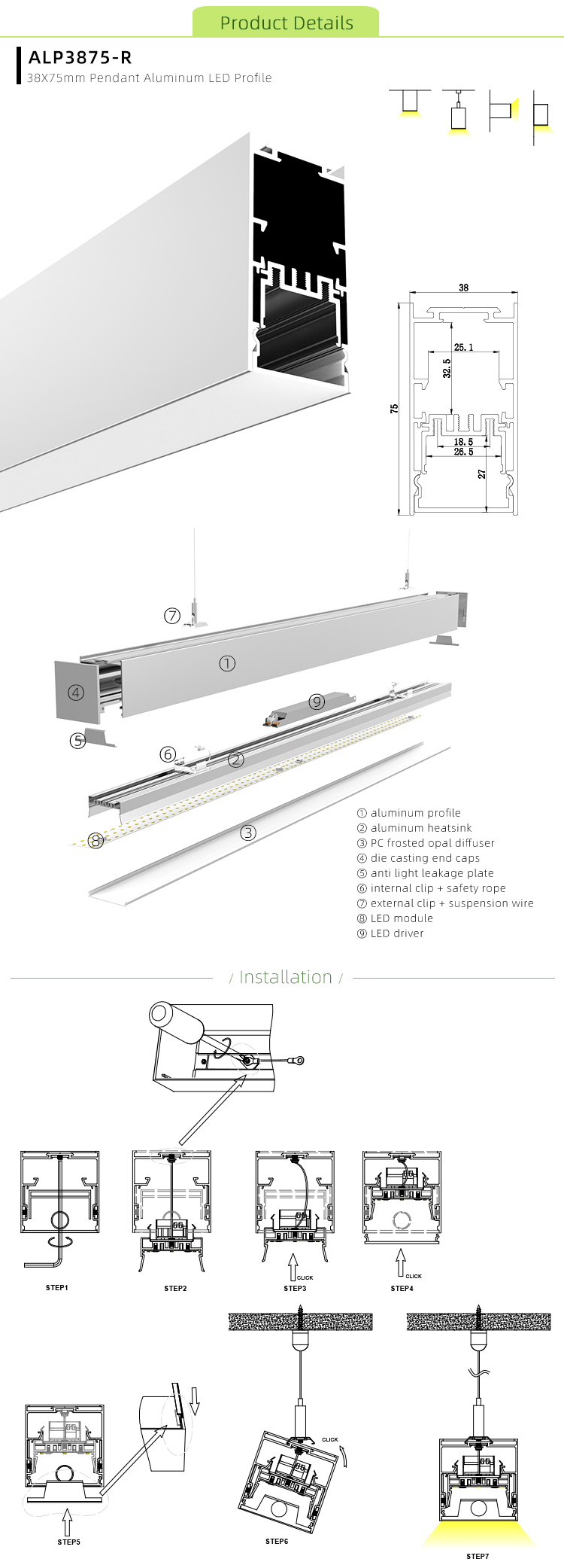 How To Install LED Ceiling Channel