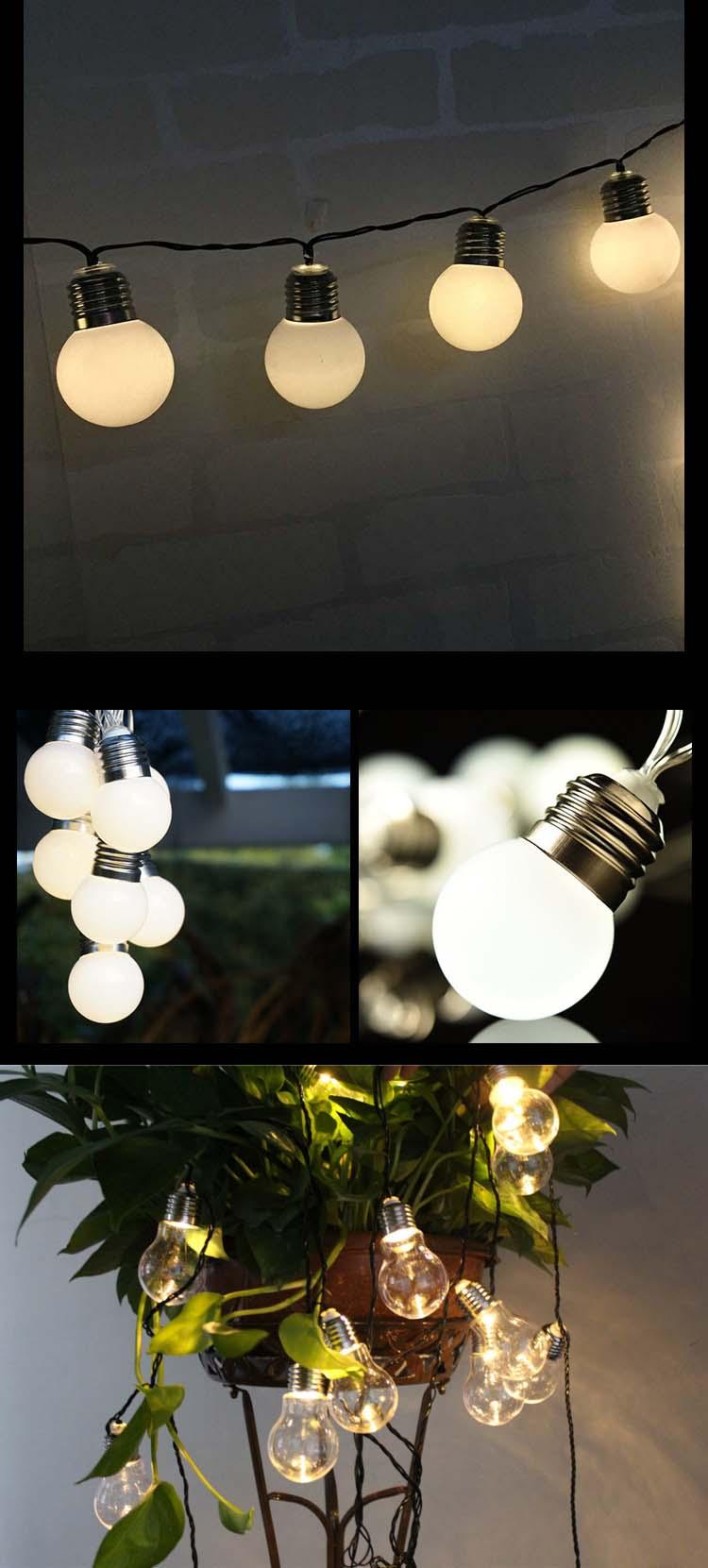 LED Ball String Light